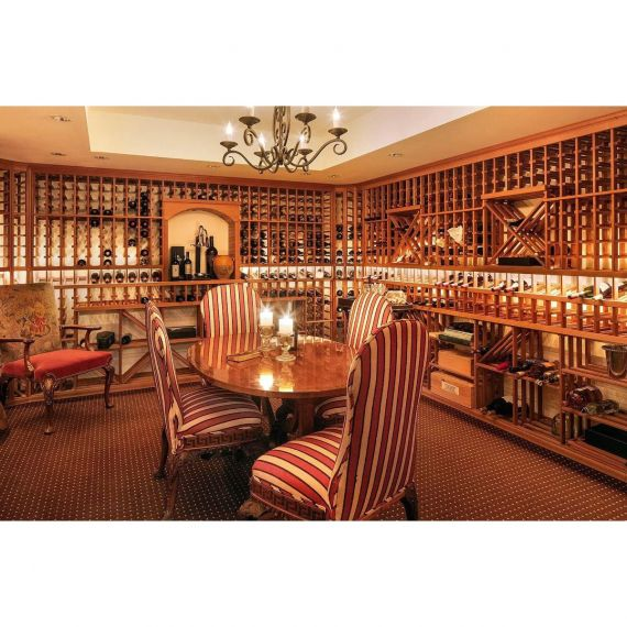 Wooden Wine Room System