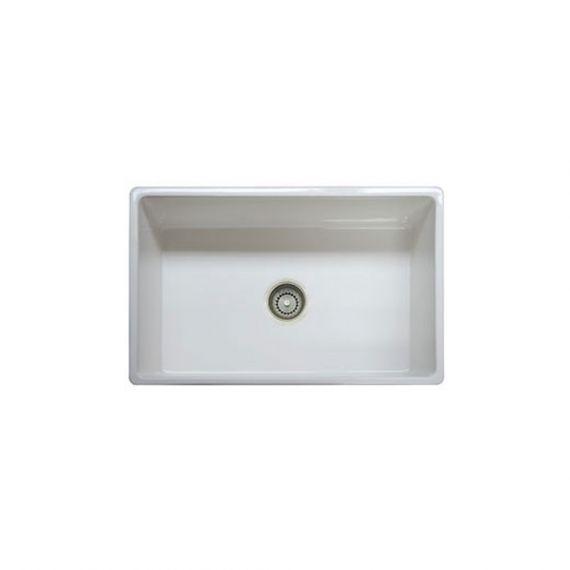 "Prestige 30"" Fireclay Apron Front Kitchen Sink"