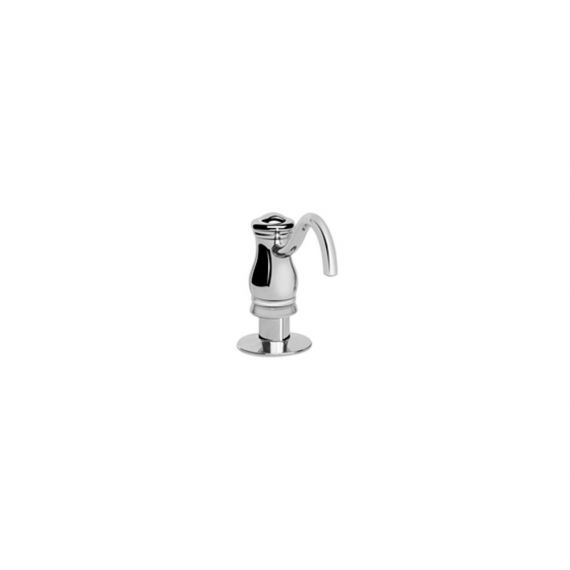 Graff Curved Polished Chrome Kitchen Soap Dispenser
