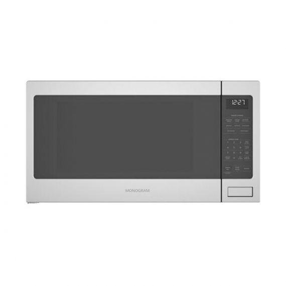 "GE Monogram 24"" Stainless 2020 Countertop Microwave"
