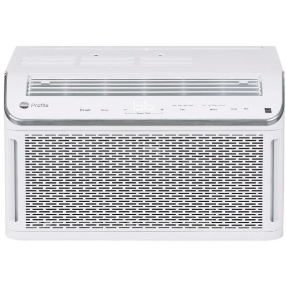 "GE Profile 19"" White Smart Mount 2020 Window Air Conditioner"