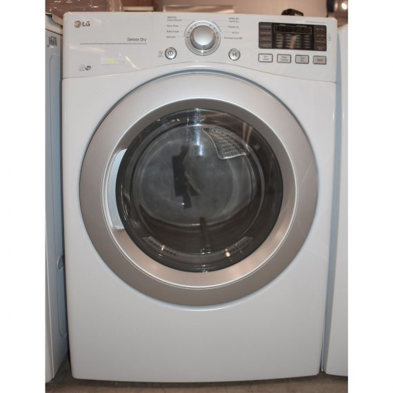 "LG 27"" White Front Load Smart Dryer"