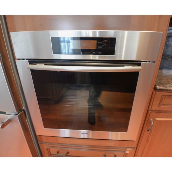 "Miele 30"" Stainless Single Wall Oven"