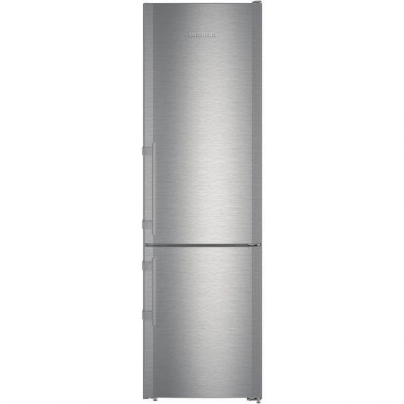 """Liebherr 24"""" Stainless Counter Depth Bottom Freezer Refrigerator"""