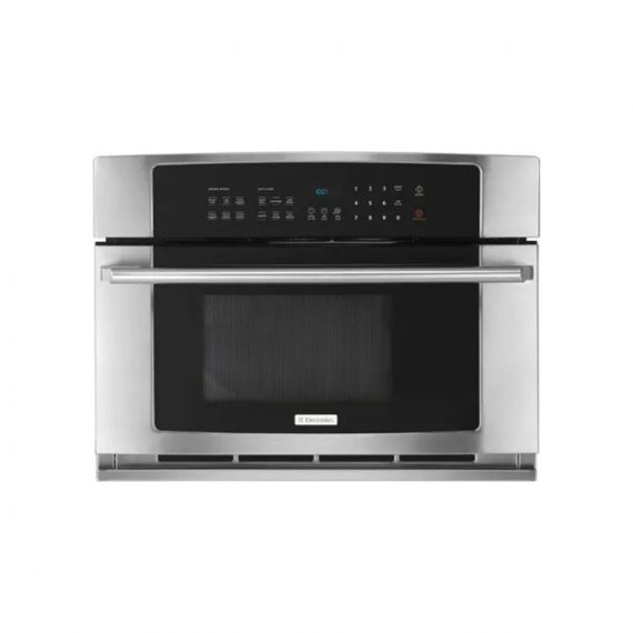 """Electrolux Wave-Touch 30"""" Stainless Drop-Down Door Microwave"""