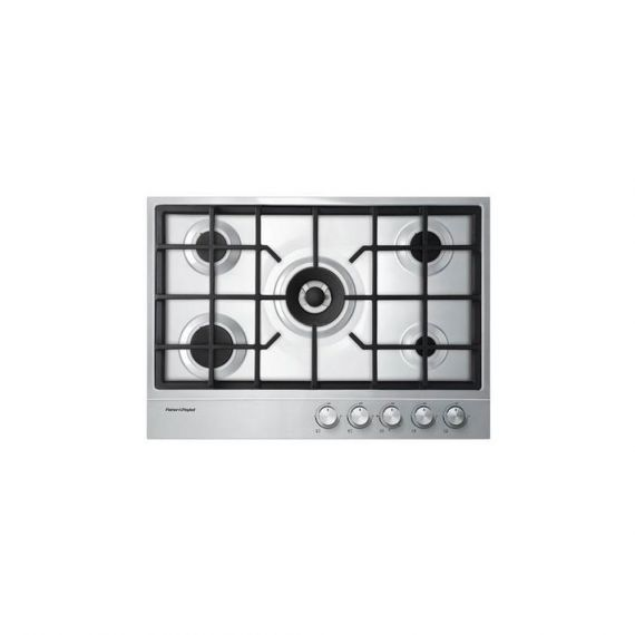 """FIsher & Paykel 30"""" Stainless Gas Cooktop w/ Power Burner"""