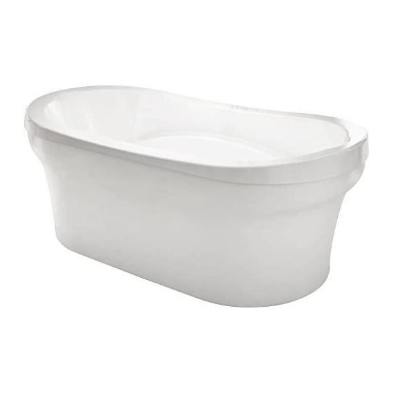 Bainultra Ellipse Soaker Tub, White Waste & Overflow, Illuzio Chromatherapy Lighting, Aromaclouse, Second Warmtouchshell