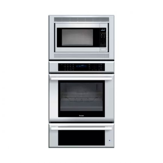 "Thermador Masterpiece 30"" Stainless Oven/Microwave/Warming Drawer Combo"