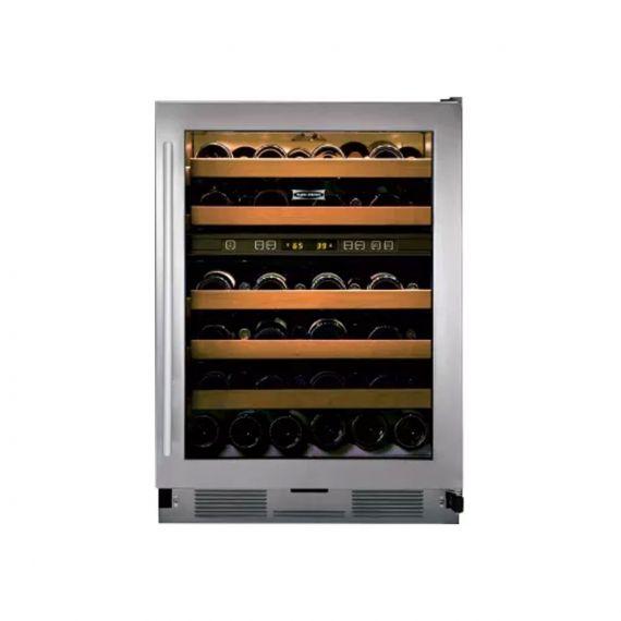 "Sub-Zero 24"" Stainless & Glass Wine Cooler"
