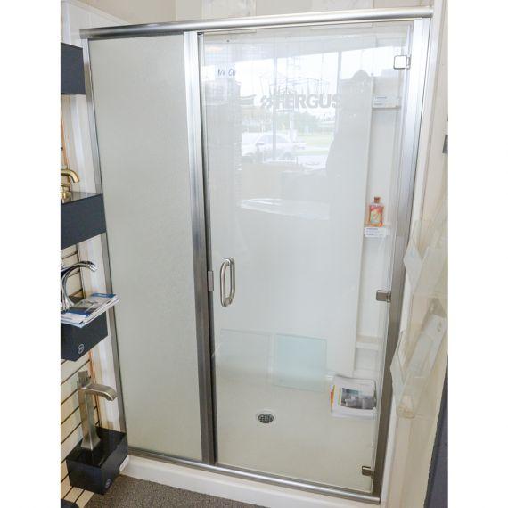 Two Piece Glass Shower Door