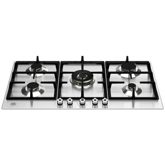 """Bertazzoni 36"""" Stainless Gas Cooktop with 5 Sealed Burners"""
