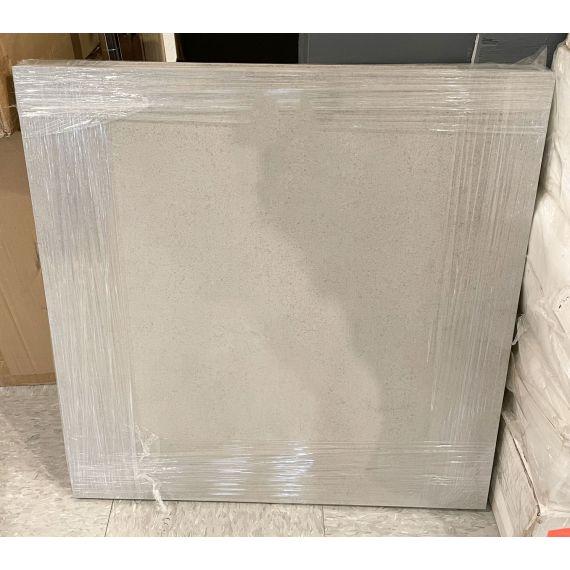 "Waterworks Taurus 23 X 23"" Gray Smoke Matte Field Tile (4 Pieces)"