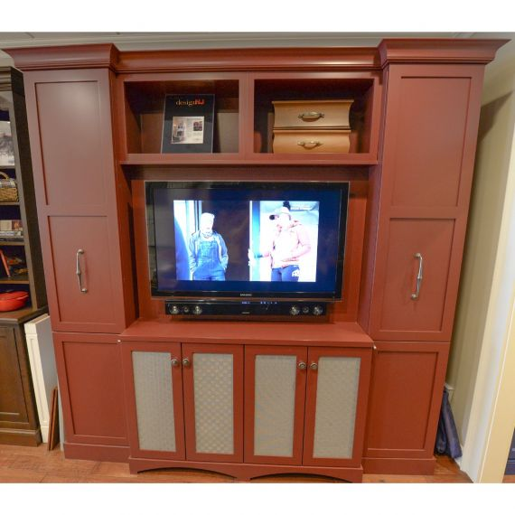 Brookhaven Burnt Orange Showroom Display Entertainment Unit