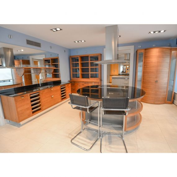 Smallbone Walnut Transitional Showroom Display Kitchen
