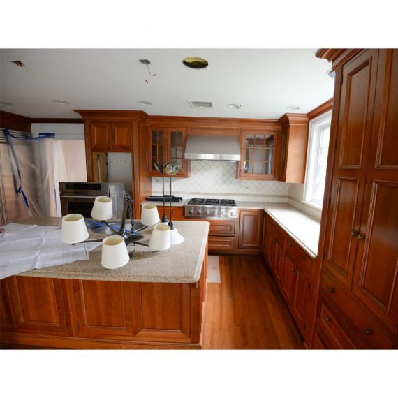 Rutt Paprika Traditional Pre-Owned Kitchen