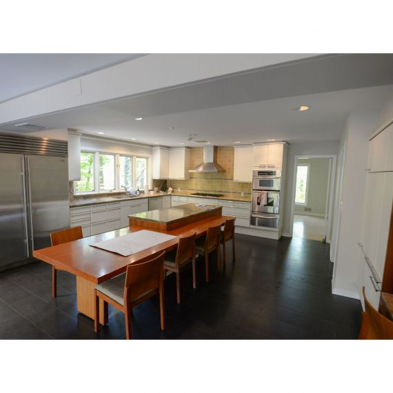 Poggenpohl Metal & Granite Modern Pre-Owned Kitchen