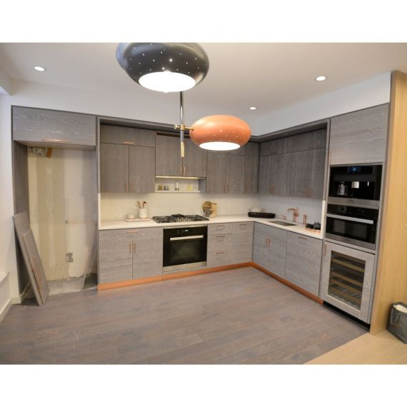 Copper & Grey Modern Showroom Display Kitchen