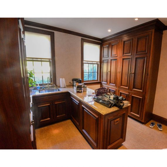 Toasted Almond Traditional Pre-Owned Butler's Pantry
