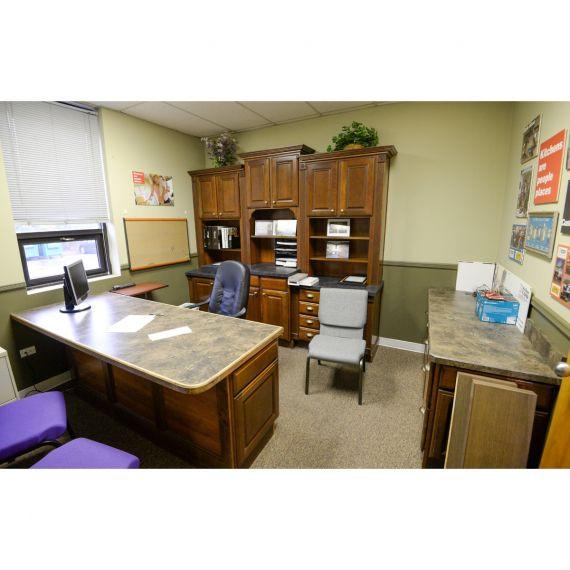 Aristokraft Clove Showroom Display Office Area