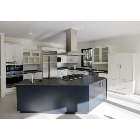 Herbert Interiors Two-Tone Transitional Pre-Owned Kitchen