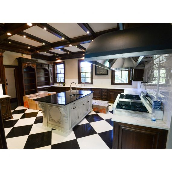 Custom Imperial Brown Traditional Pre-Owned Kitchen
