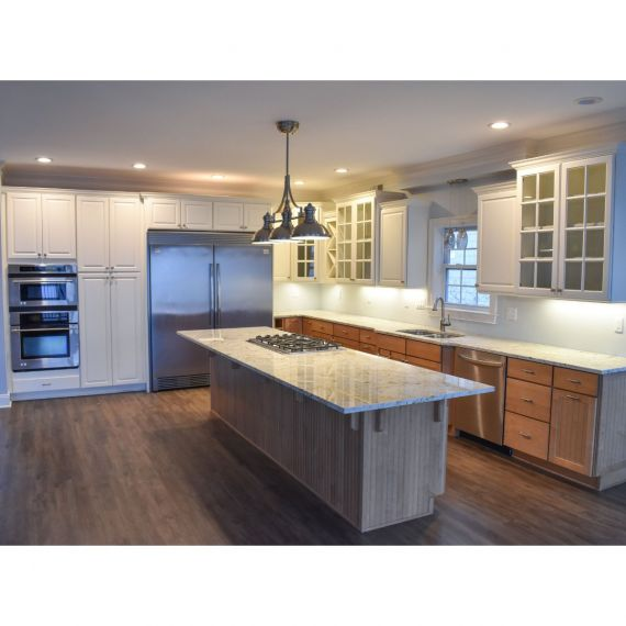 Yorktowne Wood & Ice Traditional Pre-Owned Kitchen
