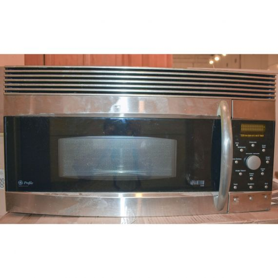 """GE 30"""" Stainless Microwave 2005"""