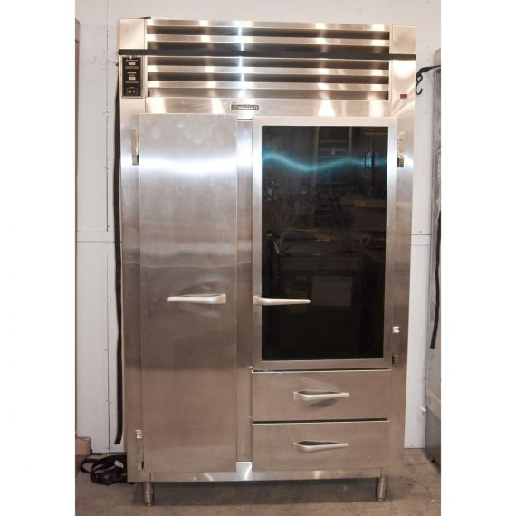 """Traulsen 48"""" Stainless Refrigerator"""