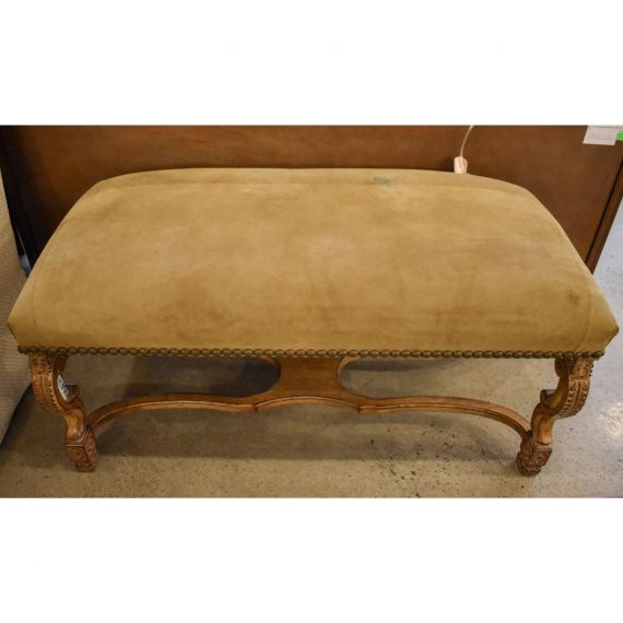 Seude & Wood Accent Bench