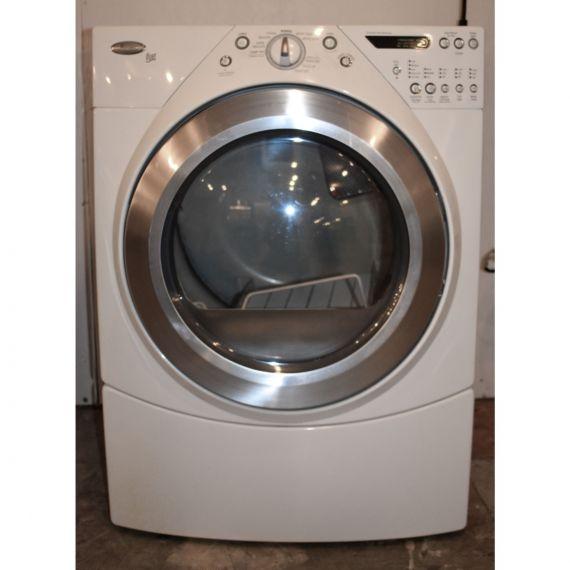 Whirlpool White Gas Dryer