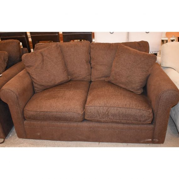 Crate & Barrel Upholstered Love Seat