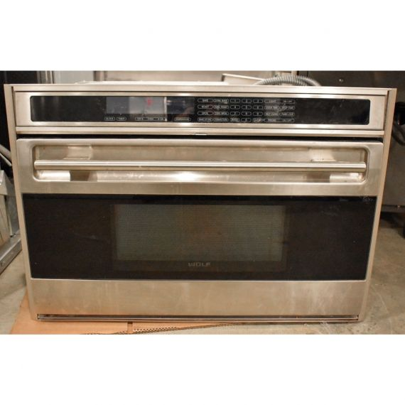 """Wolf 36"""" Stainless E-Series Single Wall Oven"""