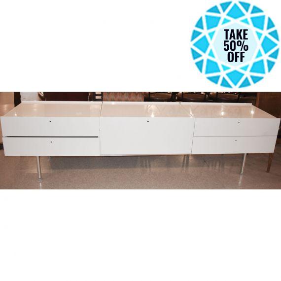 White Gloss Dresser