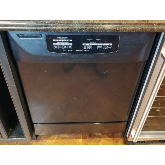 "KitchenAid 24"" Black Dishwasher"