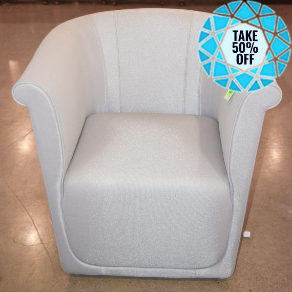 Grey Modern Club Chair