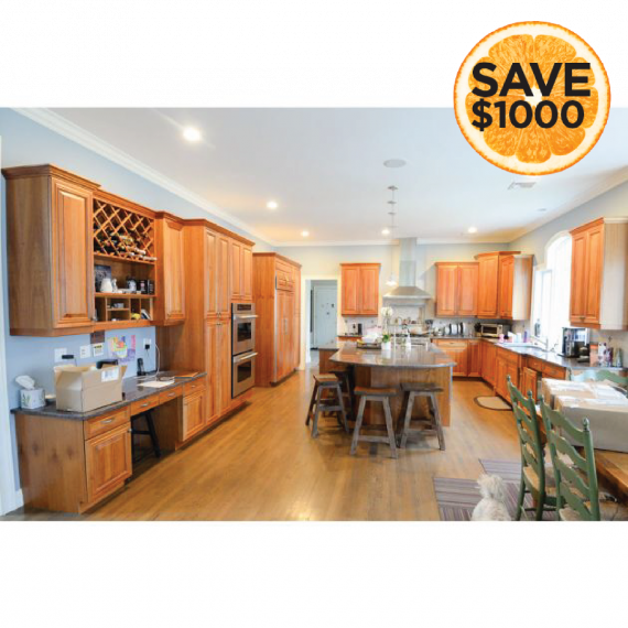 Les Care Traditional Pre-Owned Kitchen & Butler's Pantry