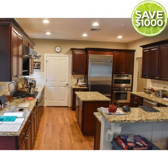 Medallion Cocoa Traditional Pre-Owned Kitchen