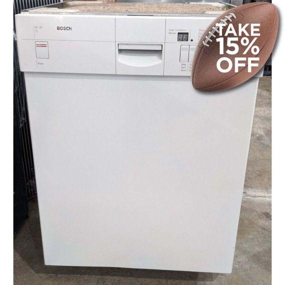 "Bosch 24"" White Dishwasher"