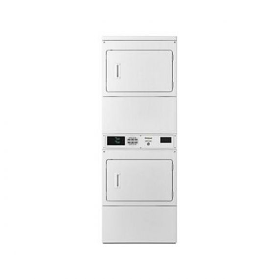 """Whirlpool 27"""" White Gas Stack Dryer"""