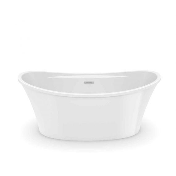 MAAX Ariosa 6636 Acrylic Freestanding Soaker Tub