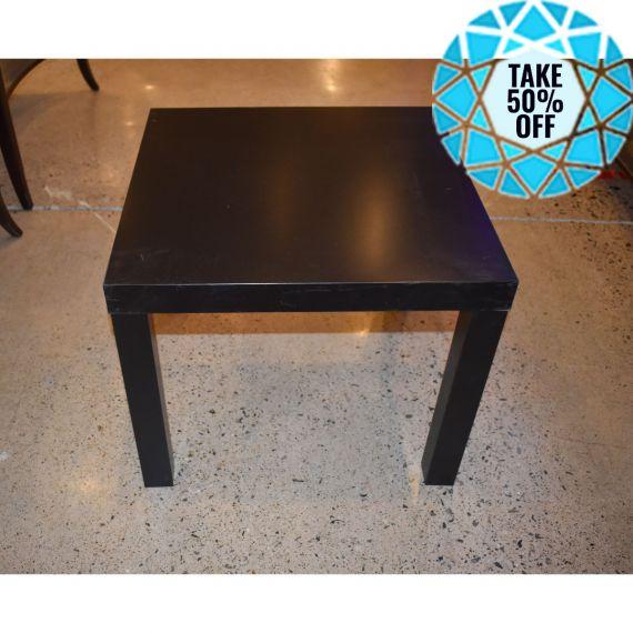 Ikea Lack Black Square Side Table