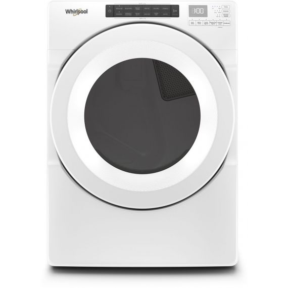 """Whirlpool 27"""" White Long Vent Electric Dryer"""