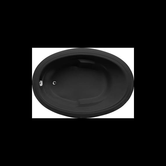 Hydro Systems Riley 6042 Graphite Gray Acrylic Soaker Tub Designer Collection