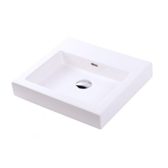 Lacava Aquaplane Porcelain Vessel White Lavatory Sink