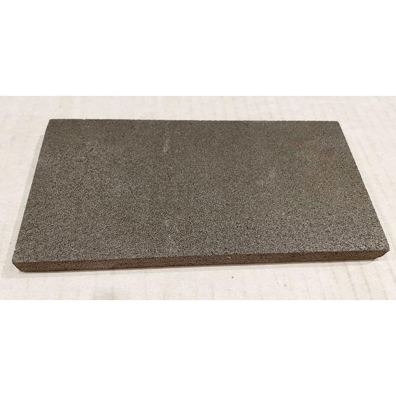 "Waterworks Magma 3 X 6"" Java Matte Field Tile (40 Per Box)"