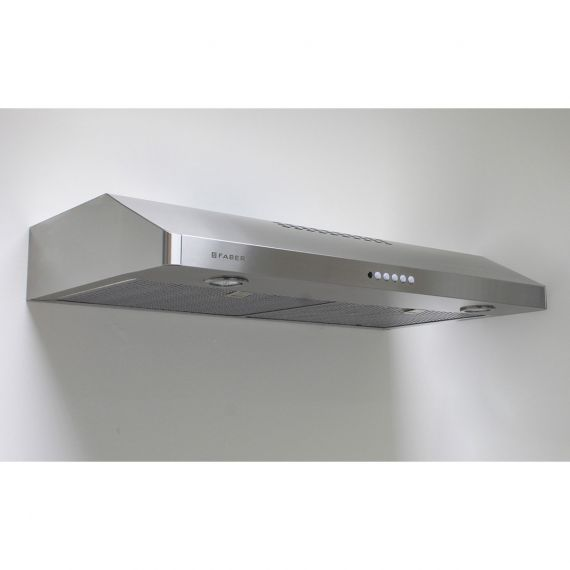 """Faber 30"""" Stainless Under-Cabinet Hood w/ Blower"""