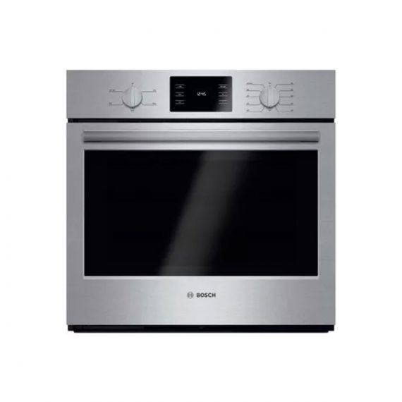 """Bosch 30"""" Stainless 500 Series Single Electric Wall Oven"""