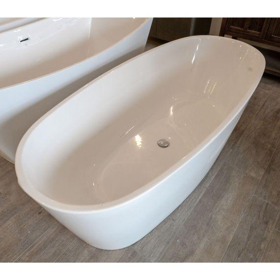 American Standard Acrylic Oval Freestanding Tub