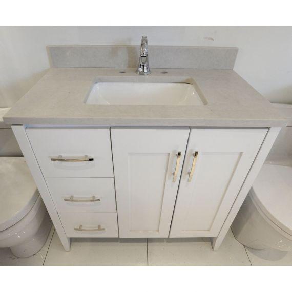 Strasser Woodenworks White Single Vanity