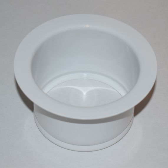 La Cornue White Sink Disposal Flange